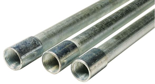 2 tuber a galvanizada sch40 refri materiales - Tuberia para instalacion electrica ...